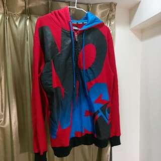 Nomis 嘻哈風超寬大內刷毛夾克