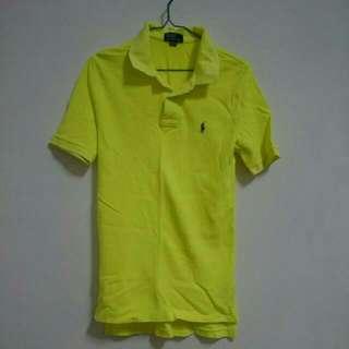 Ralph Lauren Polo螢光黃衫