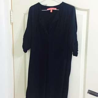 Mango 黑色洋裝