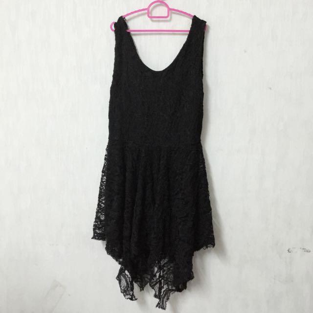 2手黑色蕾絲洋裝