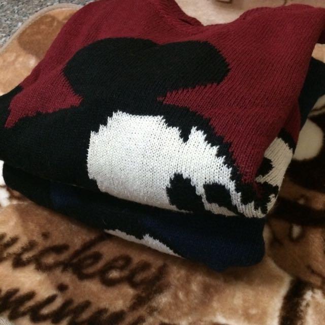 米奇針織毛衣