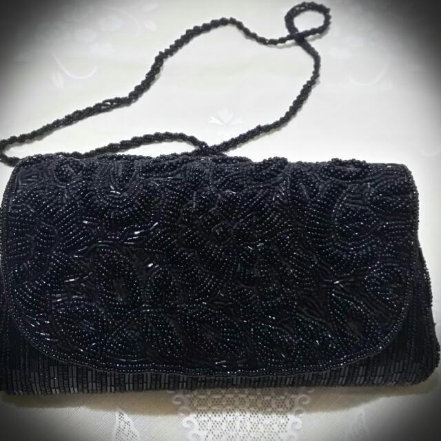 手工串珠包包(可當晚宴包)
