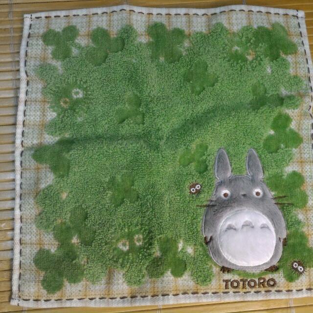 日本帶回🏮🏮 全新龍貓精緻小方巾