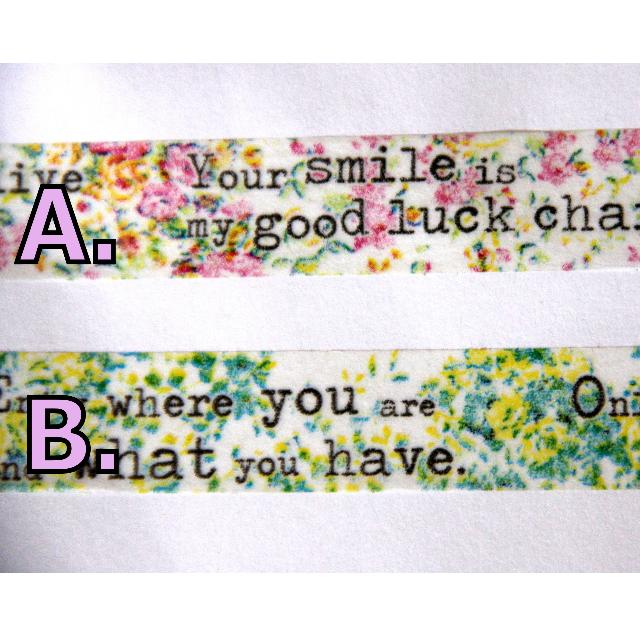 【分裝 】Aimez le style 打字機型系列 多款 紙膠帶