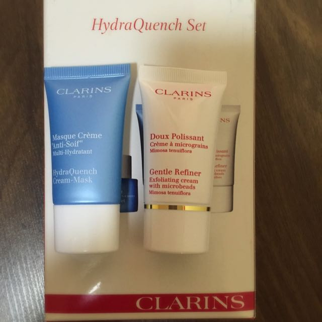 Authentic Clarins HydraQuench Set