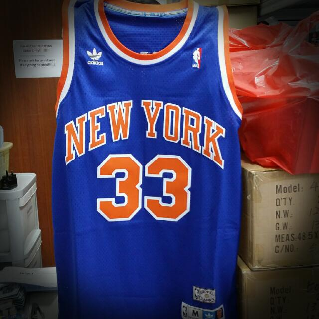 meet 09594 0eaba Brand new NBA Jersey with tag. New York Knicks Patrick Ewing