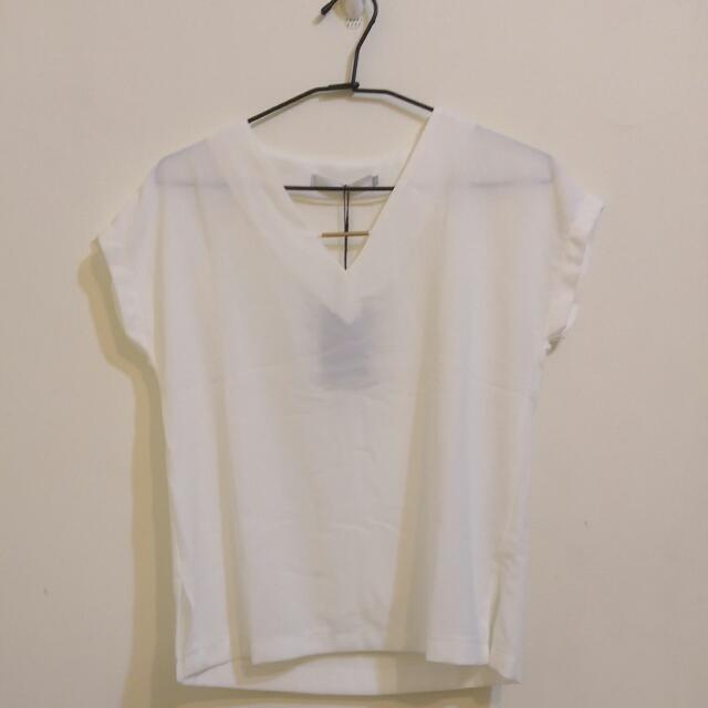Starmimi 金星 V領金屬裝飾上衣