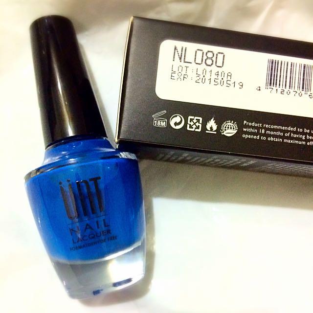 UNT 指甲油-寶藍色