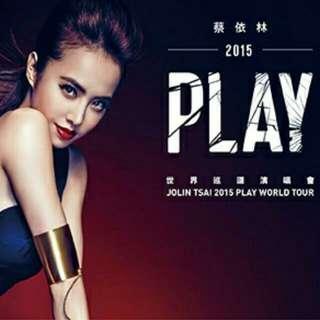JOLIN TSAI 2015 PLAY WORLD TOUR - SINGAPORE 蔡依林2015 PLAY世界巡回演唱会新加坡站