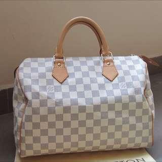 🍒speedy 30 Azur Louis Vuitton Lv