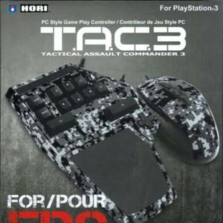 Hori TAC 3 Mouse And Keyboard For PS3