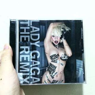 Lady Gaga Remix CD