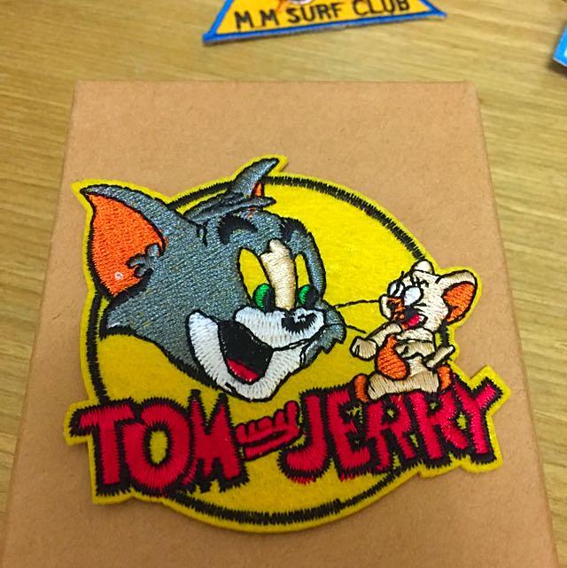 湯姆貓傑利鼠布章(含運)