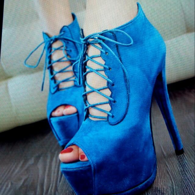 羅馬綁帶/性感高跟鞋