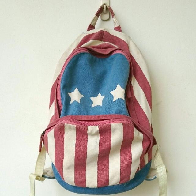 美國國旗後背包