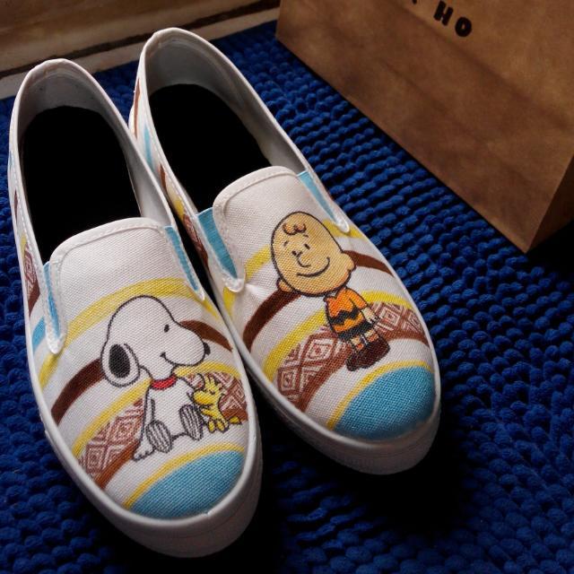 客製化手繪懶人鞋