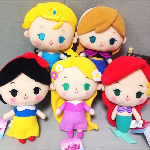 公主系列玩偶 16公分
