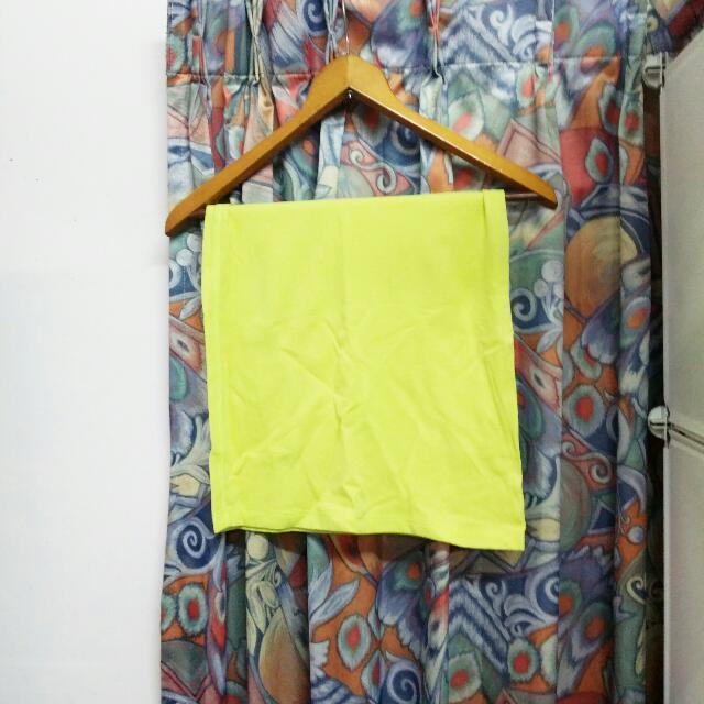 窄裙 裙子 長裙 連身裙 螢光色 海灘 比基尼 小可愛 背心 內搭 mooncat ajpeace forever21 螢光綠 mango