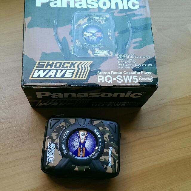 迷彩 國際牌收放音機 Panasonic