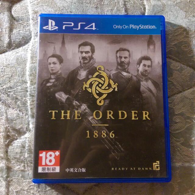 售 PS4 經典大作 THE ORDER 1886