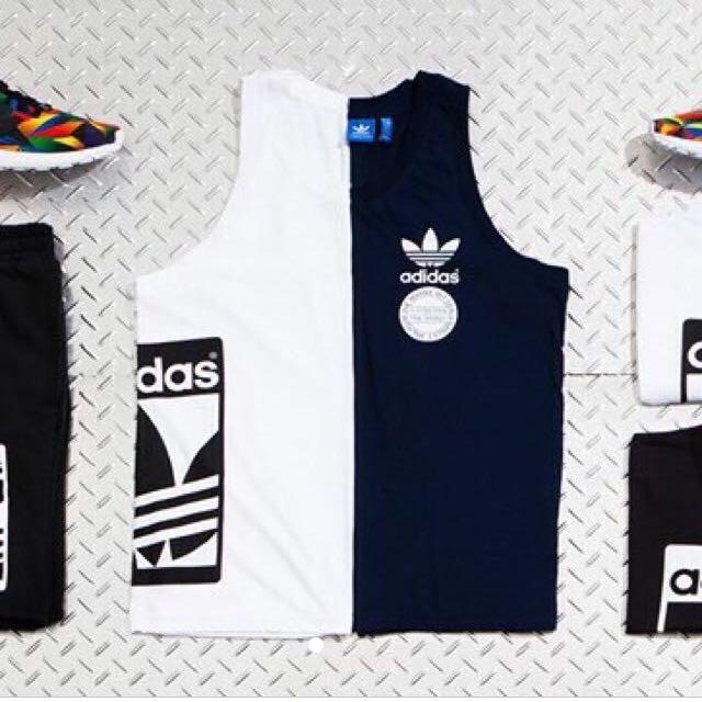(限時降價)Adidas STR GRAPH TANK 男版