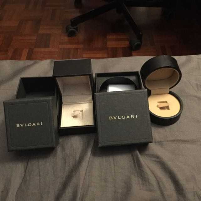 BVLGARI ring box Luxury on Carousell