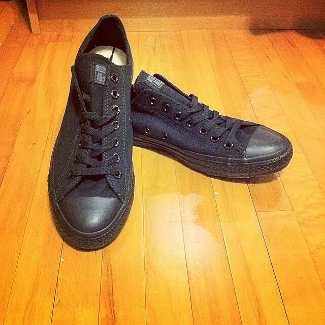 Converse Allstar's All Black Unisex