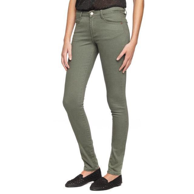 COTTON ON Skinny Jeans In Grey Green