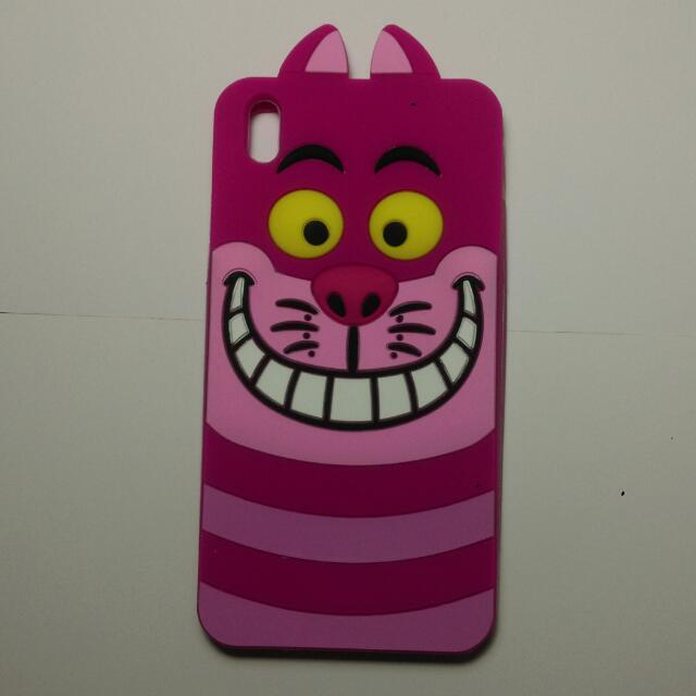 HTC desire 816 笑笑貓 手機軟殼