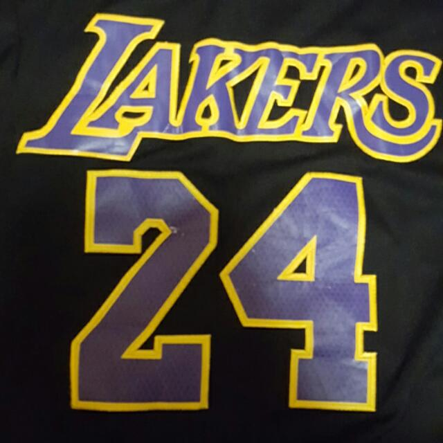 612ff49013b KOBE BRYANT Hollywood Nights Non Authentic NBA Swingman Jersey (Basketball)  , Sports on Carousell
