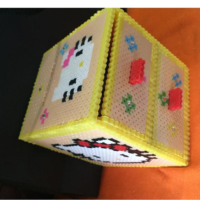 (含運)手工膠珠KT兩用抽屜收納盒