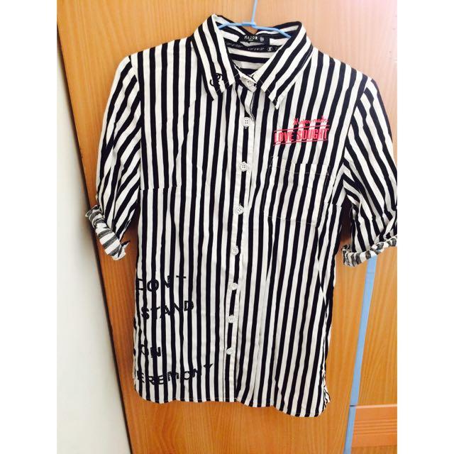 Major 條紋襯衫