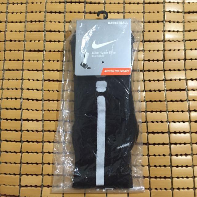 Nike Elite 籃球 長襪 黑色