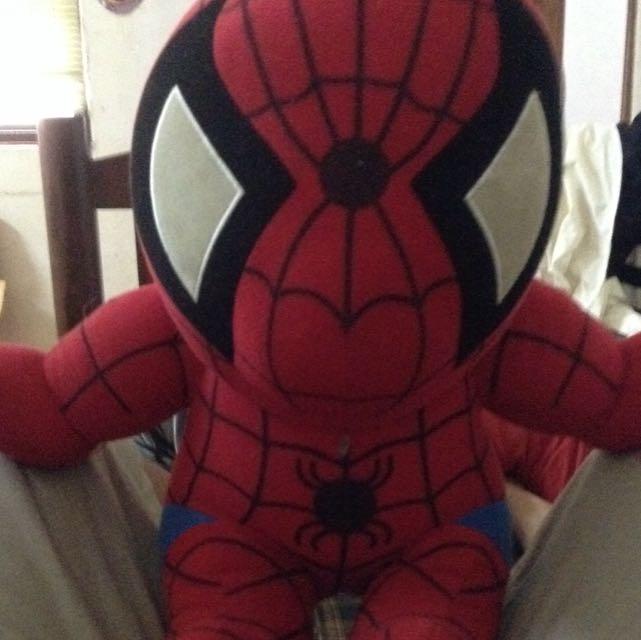 Quite 版Spider-Man 6成新有破一個小洞