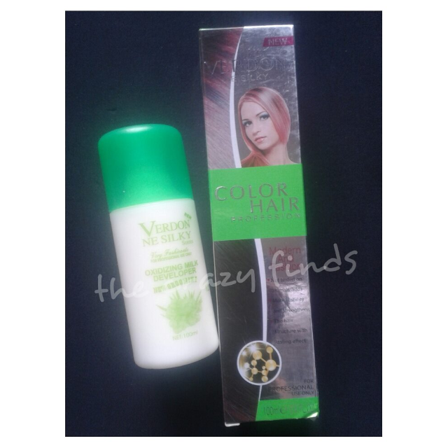 Verdon Permanent Hair Color kit