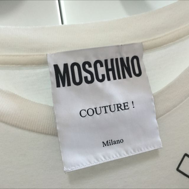 Worn Once Authentic Moschino Barbie Tshirt Dress