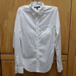 Banana Republic Tailored Slim Fit Long Sleeve Shirt - XS