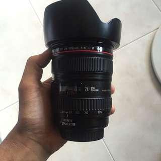 Urgent Selling 24-105 Canon L Lens