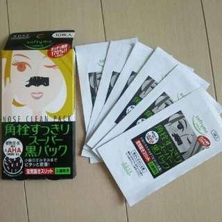 日本 KOSE 高絲 女用妙鼻貼 10本入 單盒售 日本妙鼻貼