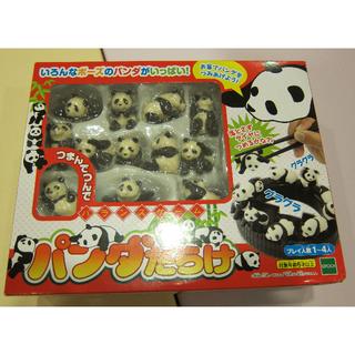 日本原裝 熊貓 輪胎 疊疊樂 平衡遊戲