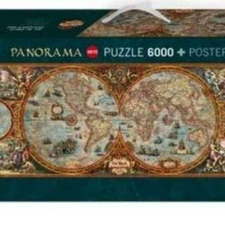 6000世界地圖