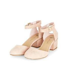 New Look Sandal, 3cm Heel, Nude, Soft Finish, Brand New, Size 36. $20