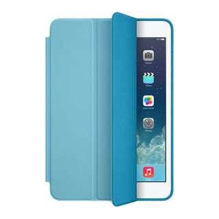 現貨 原廠 APPLE iPad air Smart Case 原廠可站立側掀皮套, 藍 款現貨