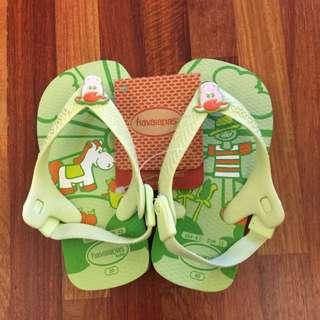 Havaianas哈瓦士寶寶夾腳拖