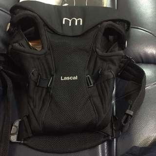 9成新二手瑞士品牌Lascal M1黑色背巾
