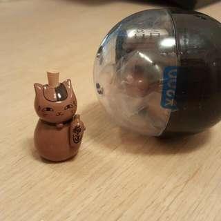 夏目友人帳 貓咪老師 陶器系列 酒瓶