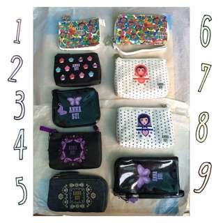 Anna Sui 薔薇手機袋零錢包