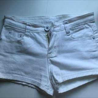 白色短褲 27腰