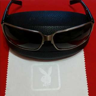 正版PLAY BOY太陽眼鏡(8成新,附眼鏡盒)