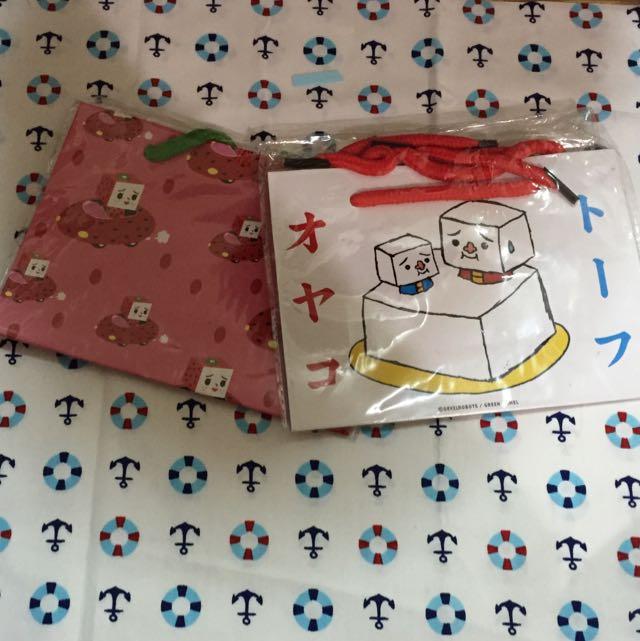 豆腐人禮物提袋(中)💕